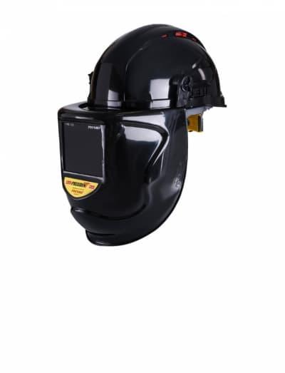 Защитный лицевой щиток сварщика КН PRESIDENT с креплением на каске