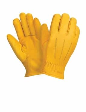 Кожаные утепленные перчатки Siberia 0145