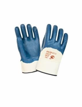 Перчатки нитриловые с тяжелым покрытием 2Hands ЕСО 0530