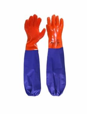 Перчатки Рыбак ЛОНГ-SP с ПВХ нарукавниками