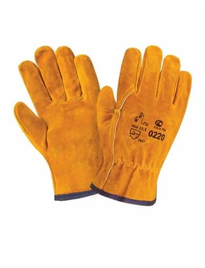 Спилковые перчатки Siberia 0220