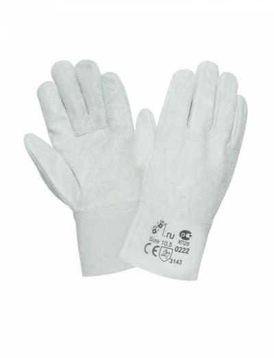 Спилковые перчатки 2Hands 0222