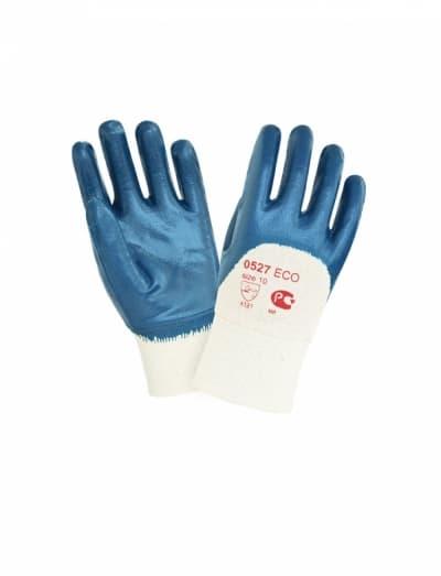 Перчатки нитриловые с тяжелым покрытием 2Hands ЕСО 0527