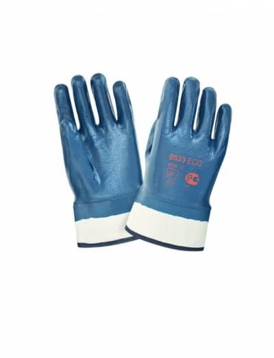 Перчатки нитриловые с тяжелым покрытием ЕСО 0533