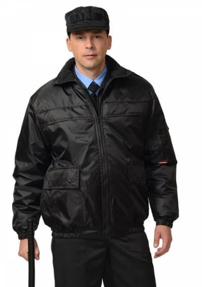Куртка «ШТУРМ-ЛЮКС» короткая, чёрная