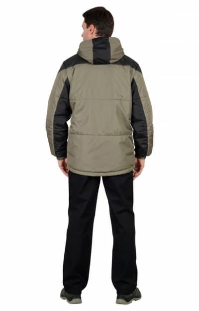 Куртка «Спринтер» мужская,  оливковая с черным