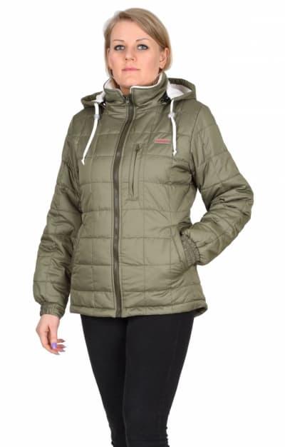 Куртка «ПРАГА-Люкс» женская,  оливковая