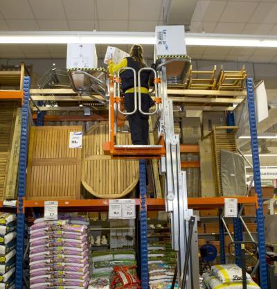 Электрический монтажный подъемник ELEVAH 65 move picking