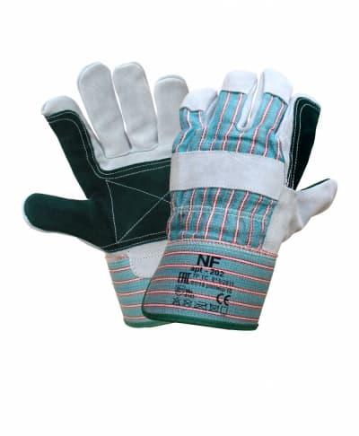 Перчатки комбинированные с усиленной ладонью