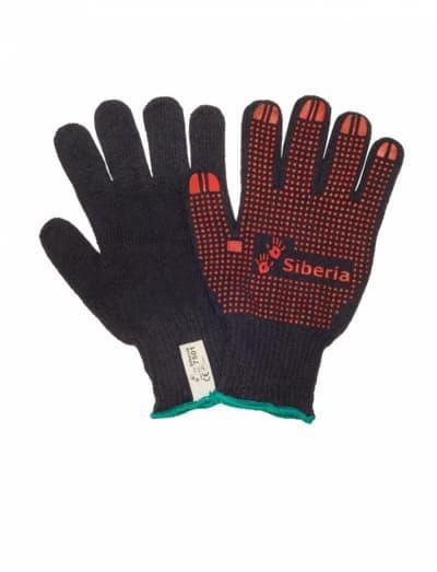 Тяжелые трикотажные перчатки Siberia 7501