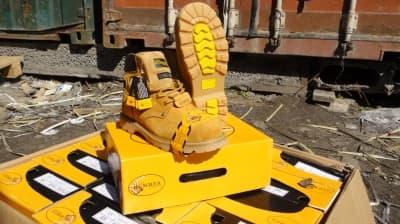 Ботинки рабочие «Hummer» желтые