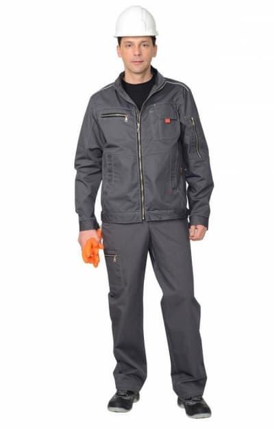 Костюм рабочий «ДАЛЛАС» серый с брюками