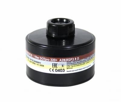 Фильтр для противогаза ДОТпро 320+ А2В2Е2Р3D