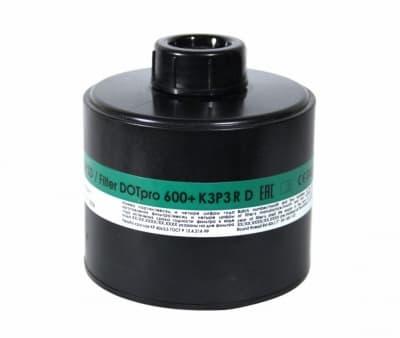 Фильтр для противогаза ДОТпро 600+ K3P3D
