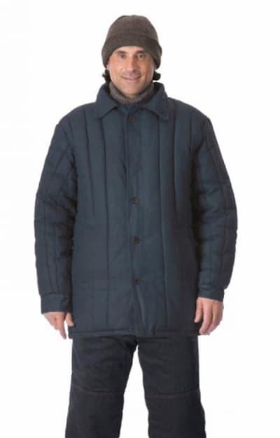 Куртка рабочая утеплённая чёрная