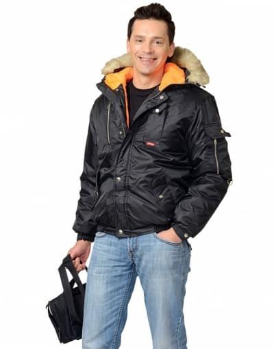 Куртка рабочая зимняя «Аляска» укороченная