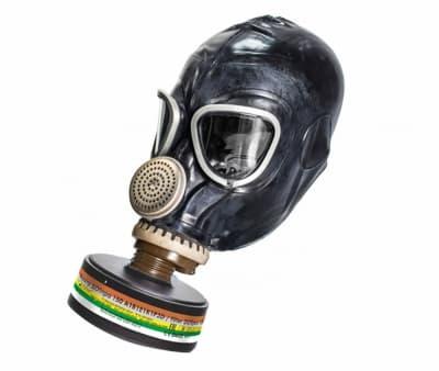 Противогаз фильтрующий «РУБЕЖ» с лицевой частью  ШМ-2012