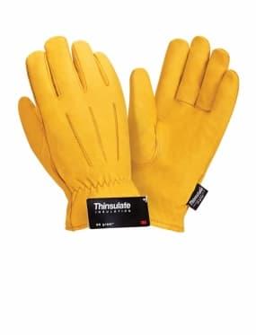 Кожаные утепленные перчатки Siberia 0150 3M Thinsulate