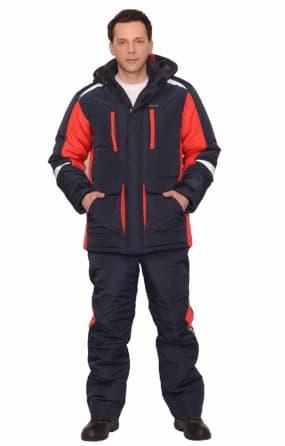 Костюм рабочий «Сатурн» зимний, куртка длинная с брюками, СОП 50 мм