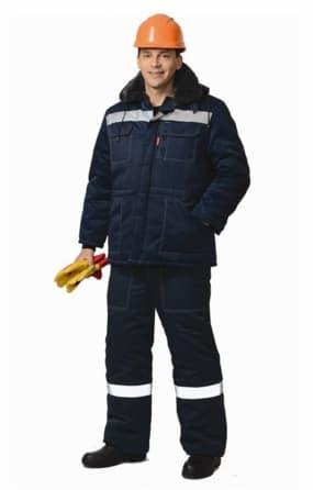 "Костюм ""СИРИУС-ЛЕГИОНЕР-2"" : куртка, полукомбинезон темно-синий с СОП"