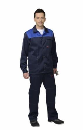"""Костюм """"СИРИУС-СТАНДАРТ"""" : куртка, брюки, синий"""