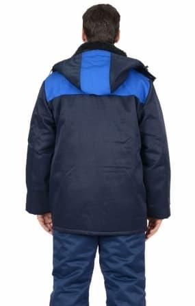 Куртка «ПРОФЕССИОНАЛ», цвет темно-синий с васильковым