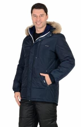 "Куртка ""ФОРВАРД"" : зимняя, мужская, цвет темно-синий"