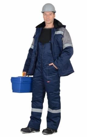 Костюм рабочий утепленный «ЛЕГИОНЕР 50» куртка с полукомбинезоном