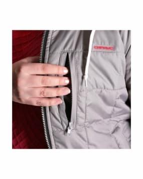 Куртка «ПРАГА-Люкс» женская,  светло-серая
