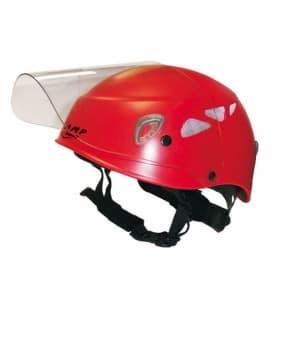 Каска защитная SILVER STAR VISOR RED
