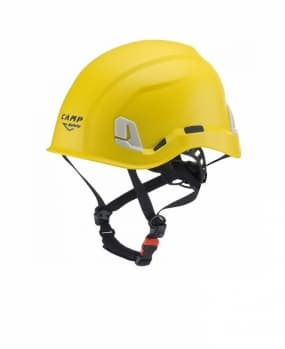 Каска для работы на высоте ARES Yellow
