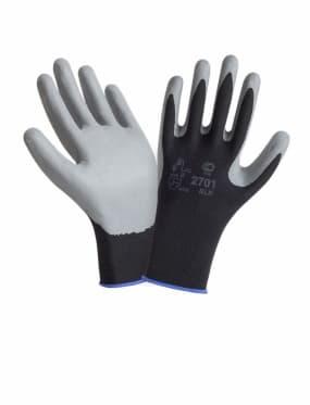 Перчатки нейлон с нитрилом Air 2701BLK