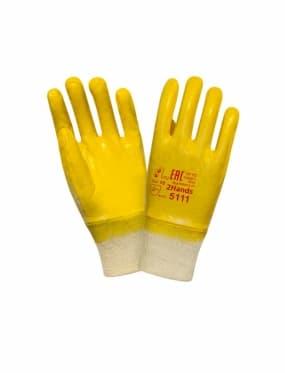 Нитриловые перчатки с легким покрытием 2Hands Light 5111