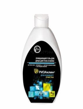 Очищающий гель для тела и волос РизаКлин® Душ Комфорт. Очистка