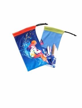 Универсальный мягкий футляр с цветной печатью для очков открытых
