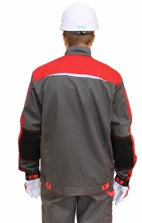 Костюм мужской «СПЕЦ ИТР»  куртка-полукомбинезон