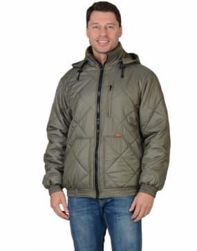 Куртка рабочая зимняя «Прага-Люкс», цвет оливковый