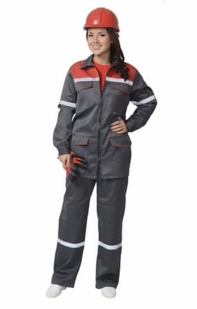 Костюм рабочий женский «МЕХАНИК» с брюками