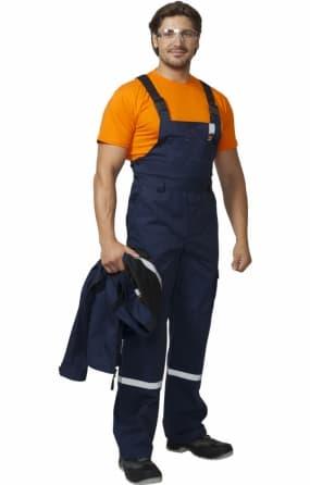 Костюм рабочий «Практик-1»: куртка, полукомбинезон