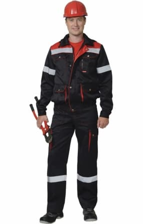 Костюм рабочий «ТИТАН»: куртка, полукомбинезон