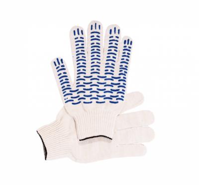 Перчатки ХБ ПВХ Волна